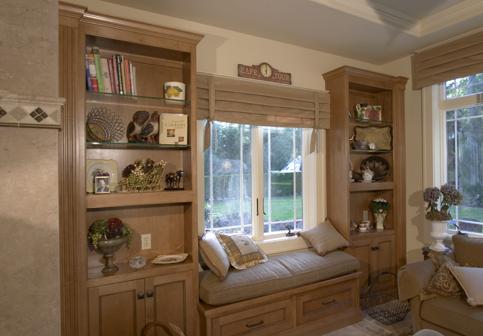 Window Seats & Night Stands - Baywood Cabinet Baywood Cabinet